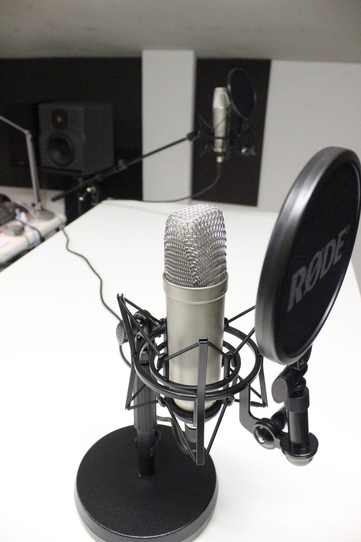 Podcast opnemen in Bussum