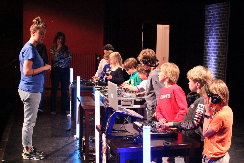 DJ Workshop met kinderen in Bussum